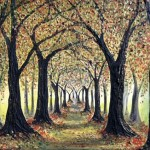 Autumn Avenue No.8 | SOLD