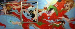 Fish Blood (mural) (WIP)