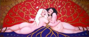 Gemini (mural) | SOLD