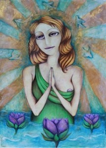Lily Pond Madonna