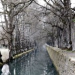 Reflective Canal (la brume de l'hiver)