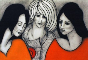 Three Friends | SOLD