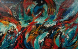 Wild Roosters Dance | SOLD