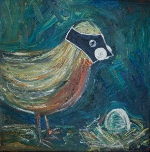 Bird and Egg | SOLD